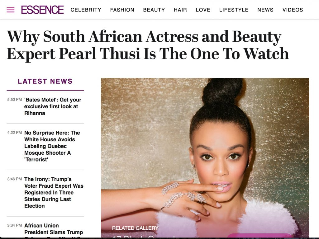 """One To Watch"" : Essence Mag USA"