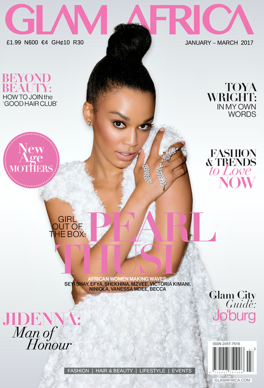 Glam Africa Cover Jan 2016