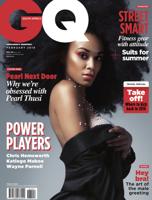 PEARL THUSI covers GQ